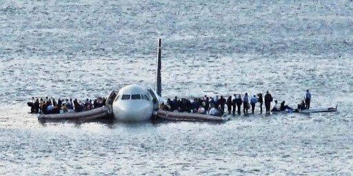 4. Аварийное приземление на воду (Гудзон)