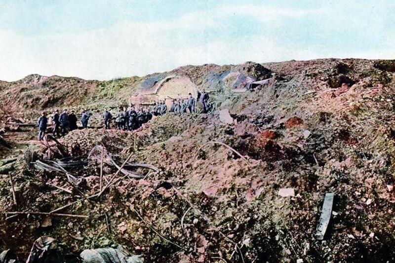 Немцы на Первой мировой: уникальные цветные фото
