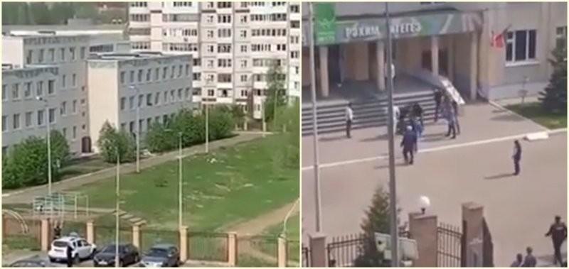 В Казани подросток расстрелял учителей и школьников