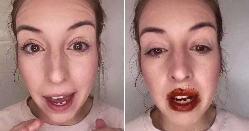 Хочешь пухлые губы, тогда намажь их этим (5 фото)